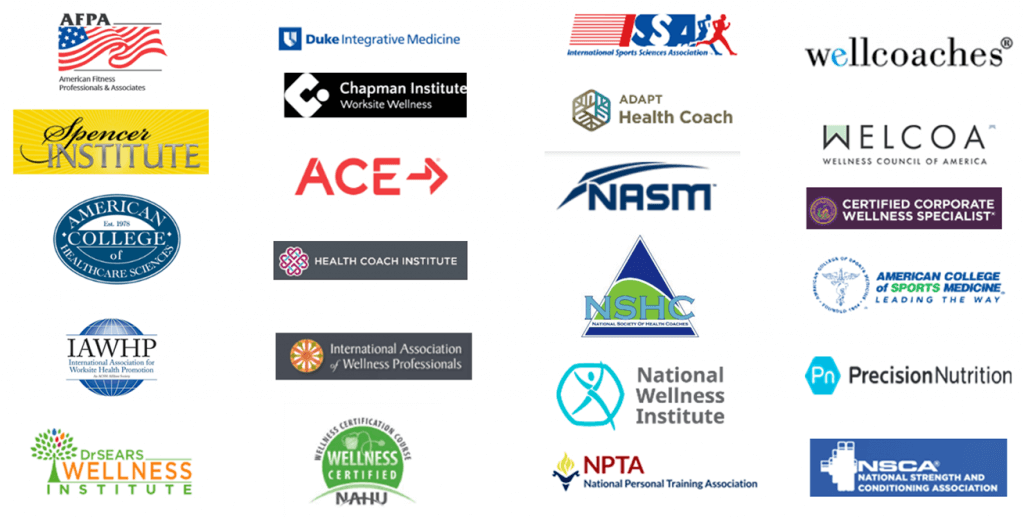 23 Best Wellness Certifications, Personal Training and Health Coach