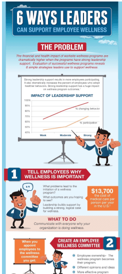 how to get leadership support for wellness programs
