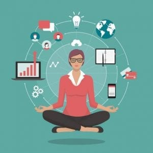 mindfulness in the workplace, mindfulness at work, how to be mindful, employee mindfulness